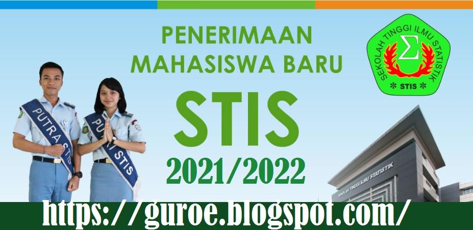 Jadwal dan Persyaratan Pendaftaran Calon Mahasiswa Baru STIS Tahun Akademik 2021-2022