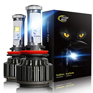 Cougar Motor Headlamps - 6000k Car Headlight LED Bulbs