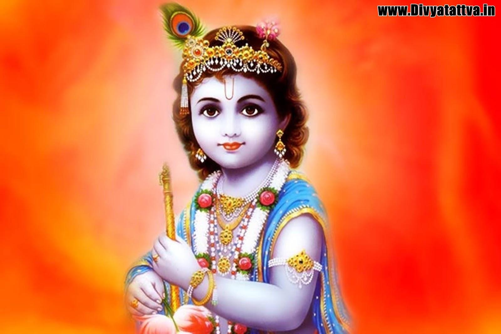 krishna baby child photo wallpaper background spiritual hindu god www.divyatattva.in