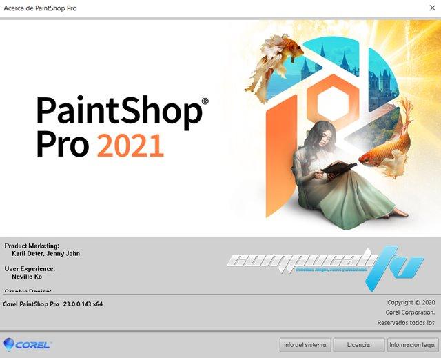 Corel PaintShop Pro 2021 Versión Full Español