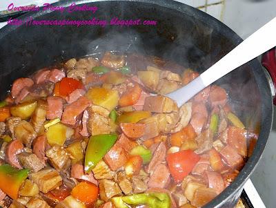 Menudo - Cooking Procedure