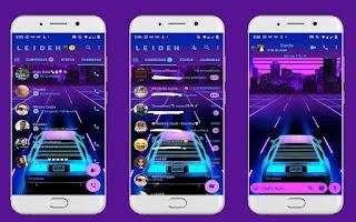 Neon Car Theme For YOWhatsApp & Fouad WhatsApp By Leidiane