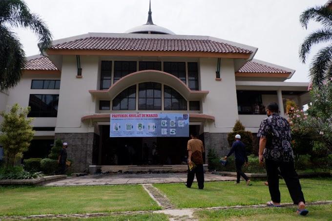 Masjid Balaikota Depok Tiadakan Solat Berjamaah dan Jumat