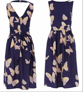 Wanted List:  Dorothy Perkins Tall Ink Butterfly Maxi