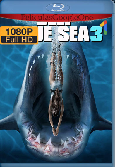 Deep Blue Sea 3 (2020) [1080p BRrip] [Latino-Inglés] [LaPipiotaHD]