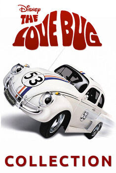 Herbie, Se Meu Fusca Falasse Pentalogia Torrent - BluRay 720p/1080p Dual Áudio