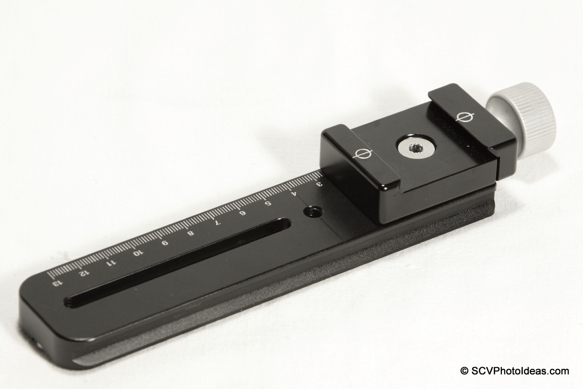 Hejnar Photo G031 Nodal rail + F012 QR clamp assembled