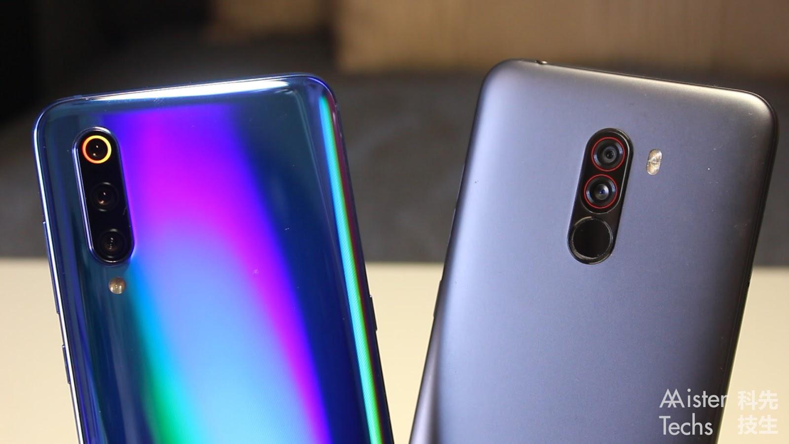 Xiaomi Mi 9 vs Pocophone F1 Comparison: Back to Pocophone