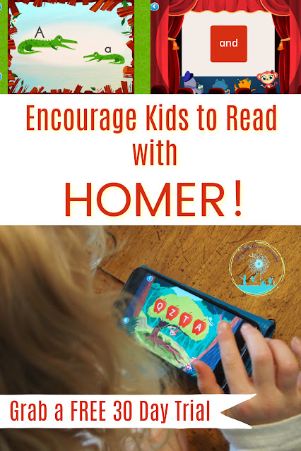Encourage Your Kids to Read with HOMER