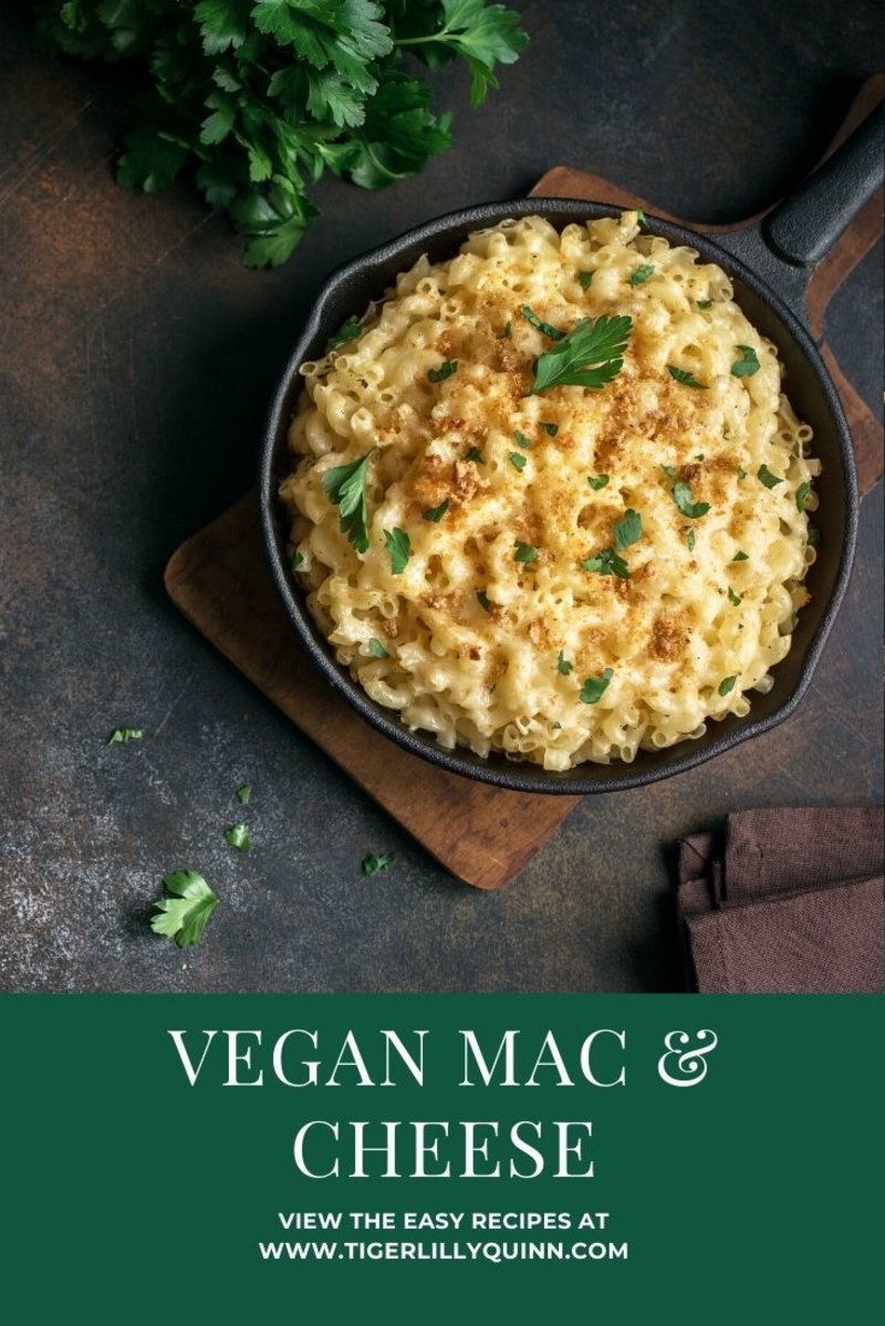 easy vegan mac and cheese recipe