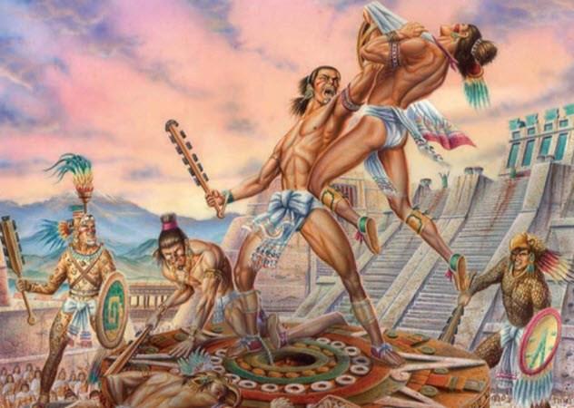 pengorbanan nyawa manusia untuk dewa aztec