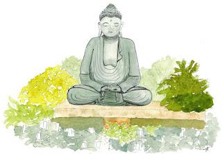 Buddha, Swanson's Nursery