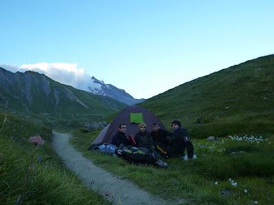 Tour del Mont Blanc Tienda de Campaña