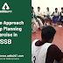 How to approach Group Planning Exercise in SSB