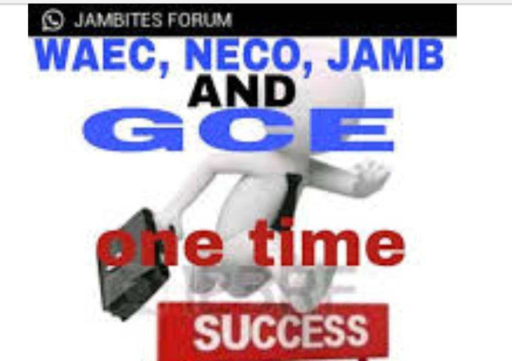 GET 2020/2021 JAMB, WAEC, NECO, WAEC OR NECO GCE AND ...