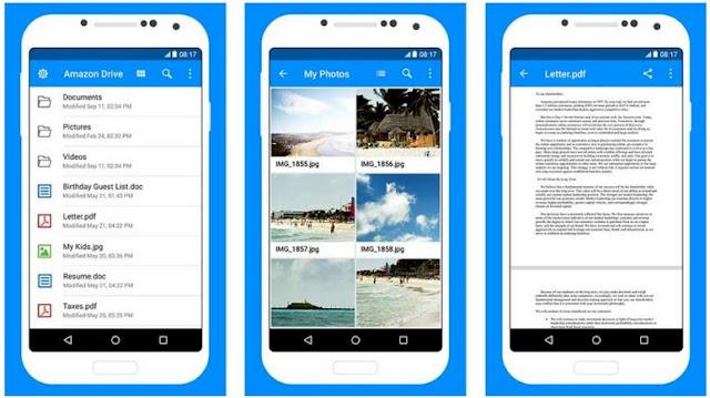 Cara Menambah Memori Internal Android - Amazon Drive