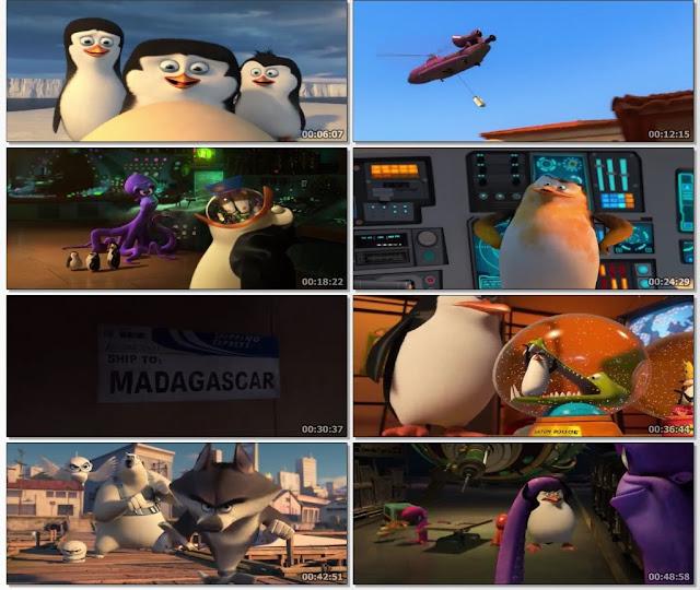 Penguins of Madagascar 2014 Dual Audio ORG 720p BluRay