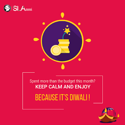 SLA Financial Solutions Diwali Social Post