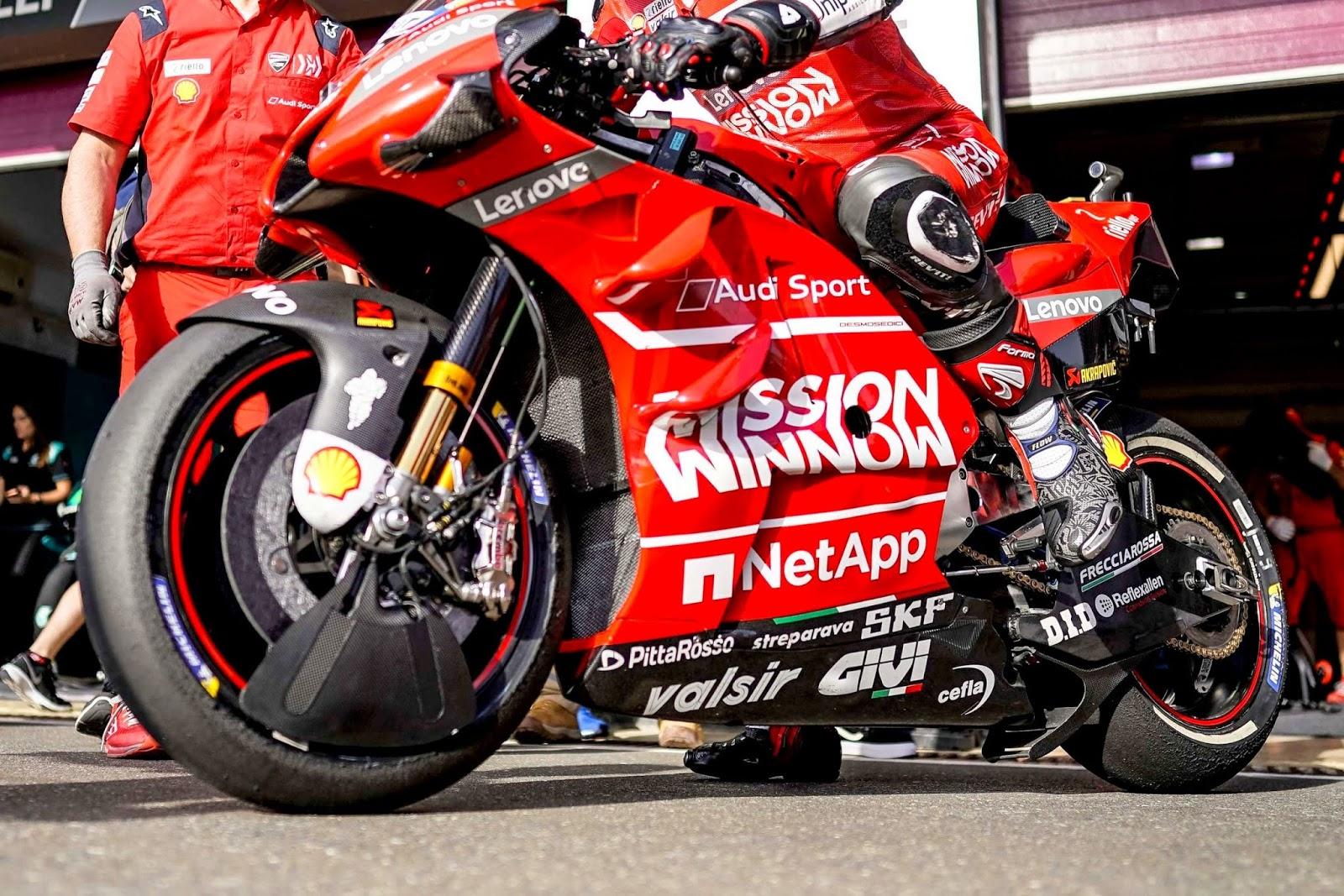 Race dibatalkan, begini cara tim pabrikan Ducati memulangkan motornya dari Qatar