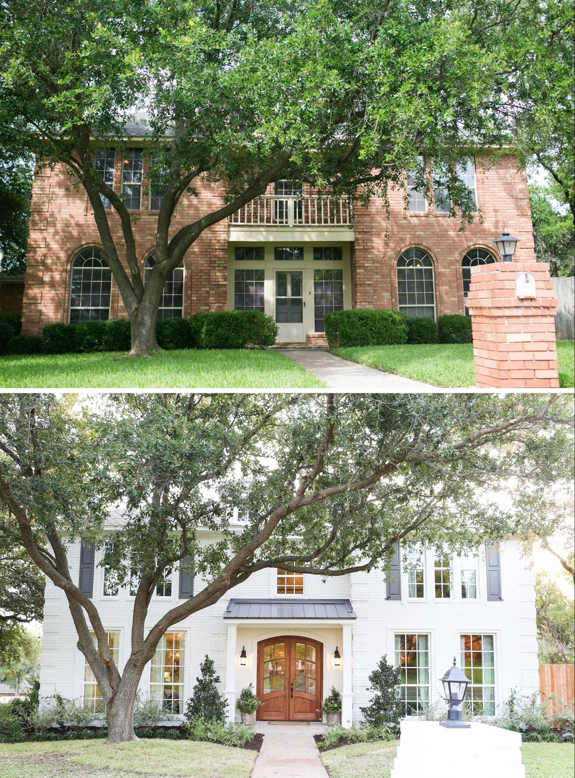 Cultivate Create: House Goals: Painted Brick