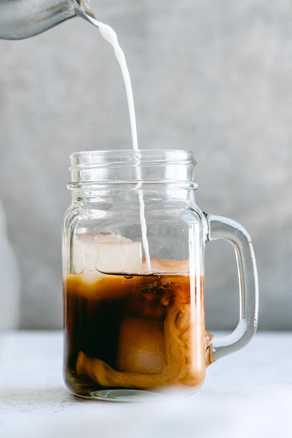 pumpkin spice iced coffee