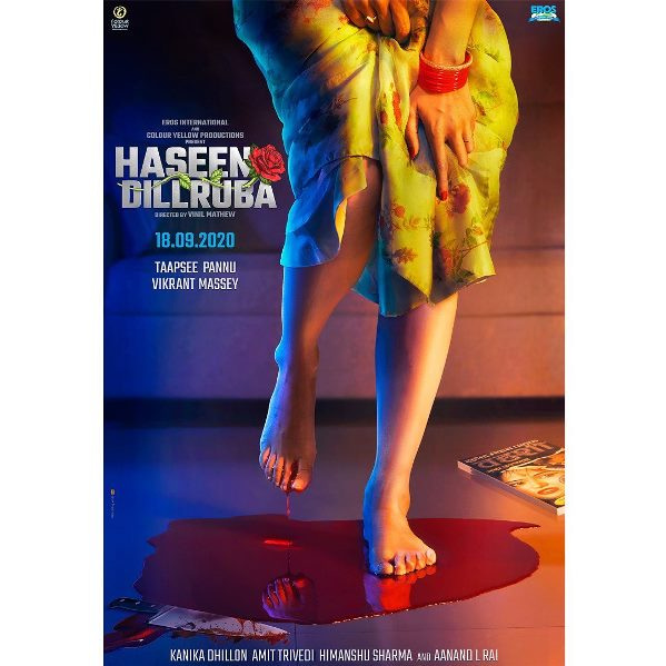 full cast and crew of Bollywood movie Haseen Dillruba 2020 wiki, movie story, release date, Actor name poster, trailer, Video, News, Photos, Wallpaper, Wikipedia