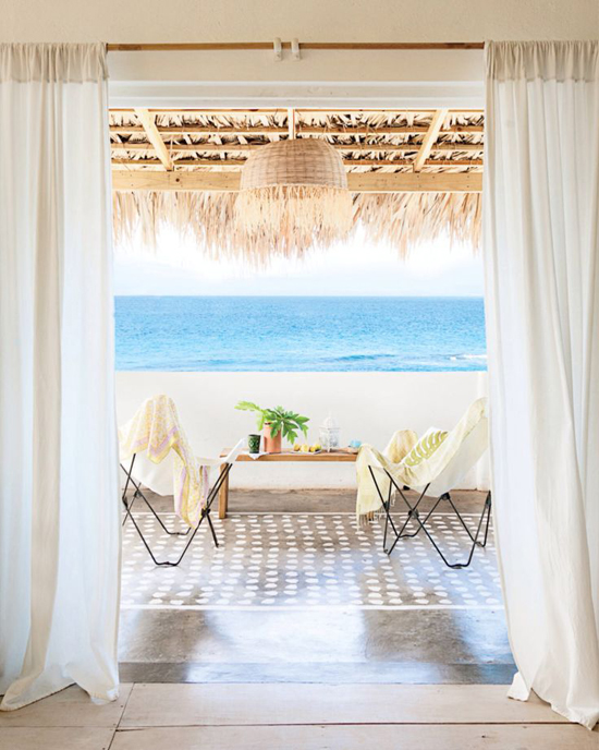 Sophie Eyssautier's Treasure Island home via Coastal Living February 2014