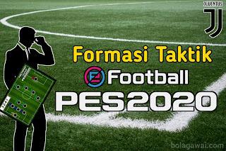 Formasi Taktik Juventus di PES 2020