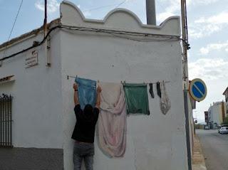 Arte urbano, arte callejero, street art o grafitis en Torreblanca.