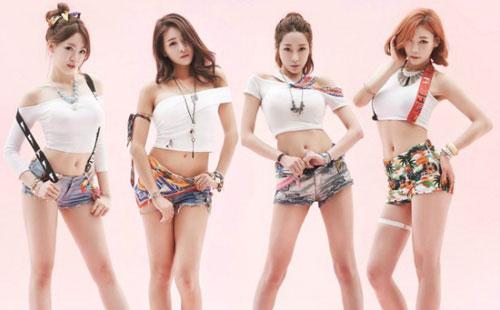girl band k pop Kontroversi Girl Band Seksi Bambino yang Pamer CD