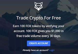 ShapeShift 100 FOX Crypto No Deposit Bonus