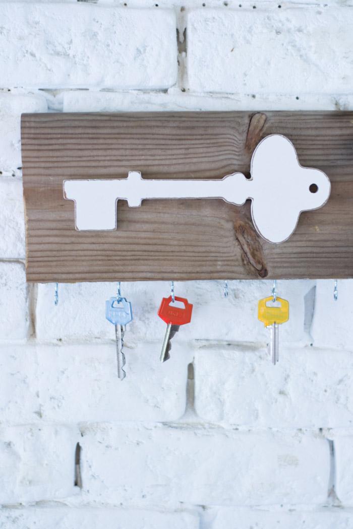 Soporte llaves diy