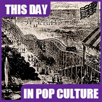 The first roller coaster opened on June 16, 1884.