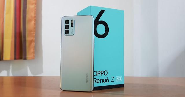 تعرف عالى هاتف أوبو رينو OPPO Reno6 Z 5G (CPH2237), ثمن الهاتف في المغرب زائد المعلومات والخصائص التقنة للهاتف المراجعة الكاملة لهاتف أوبو رينو6Z.
