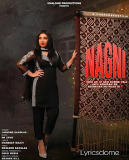 नाग्नि Nagni Lyrics|Jasmine Sandlas