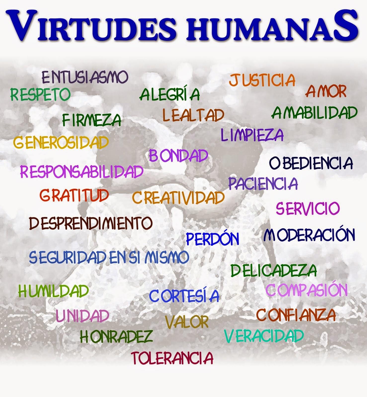 Religion Las Virtudes Y Los Mandamientos