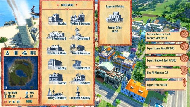Tropico 4 PC Games Screenshots