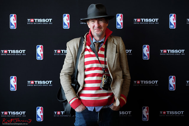 Kent Johnon at the TISSOT NBA Finals Party Sydney - Photo by Vivienne Shui.