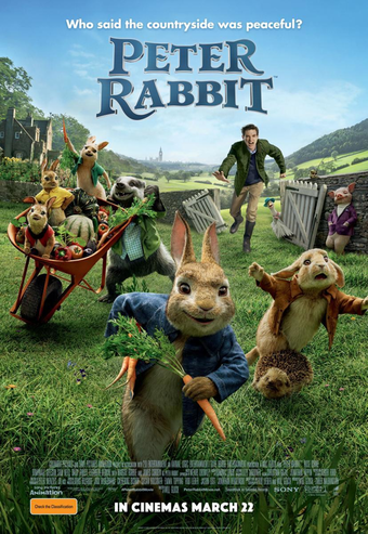 Peter Rabbit (2018) English 300MB BluRay 480p