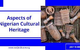 ASPECTS OF NIGERIAN CULTURAL HERITAGE