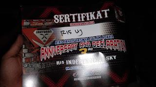 Anniv R15 Sky dan R15 United Jakarta
