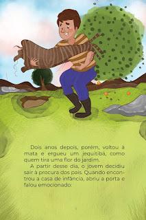 História O Jovem Gigante (Conta Pra Mim); Imprimir PDF Grátis