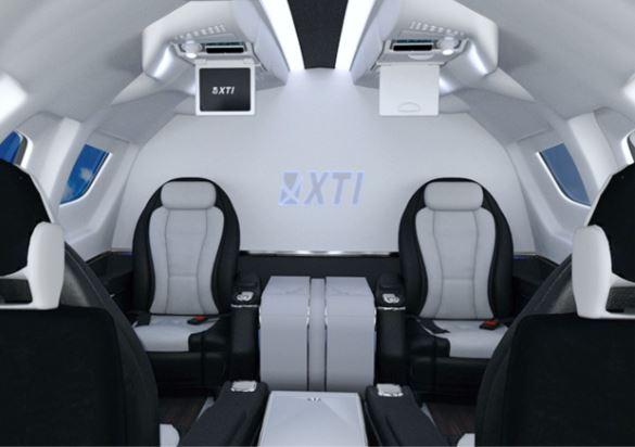 XTI TriFan 600 interior
