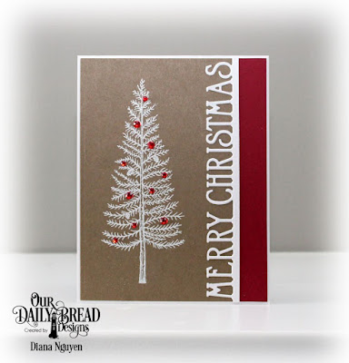Our Daily Bread Designs Stamp Set: Joys of the Season, Our Daily Bread Designs Custom Die: Merry Christmas Border