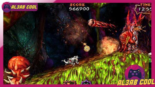 تحميل لعبة Goku Makaimura Kai لأجهزة psp لمحاكي ppsspp من الميديا فاير