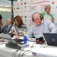Leontxo García y Pepa Fernández en el programa de RNE No es un día cualquiera