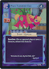 My Little Pony Plum Tuckered Out Canterlot Nights CCG Card