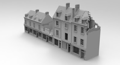 STRETCH GOAL £1500 OPENED CARENTAN CENTER STREET SET PACK 2 picture 1