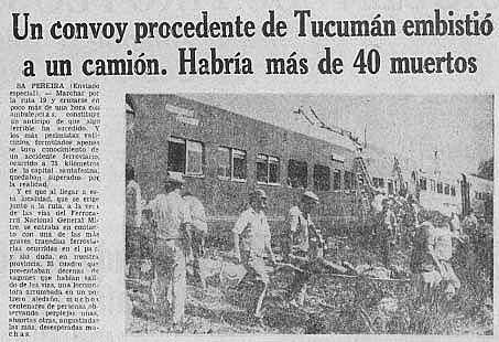 A 40 años de la tragedia ferroviaria de Sa Pereira