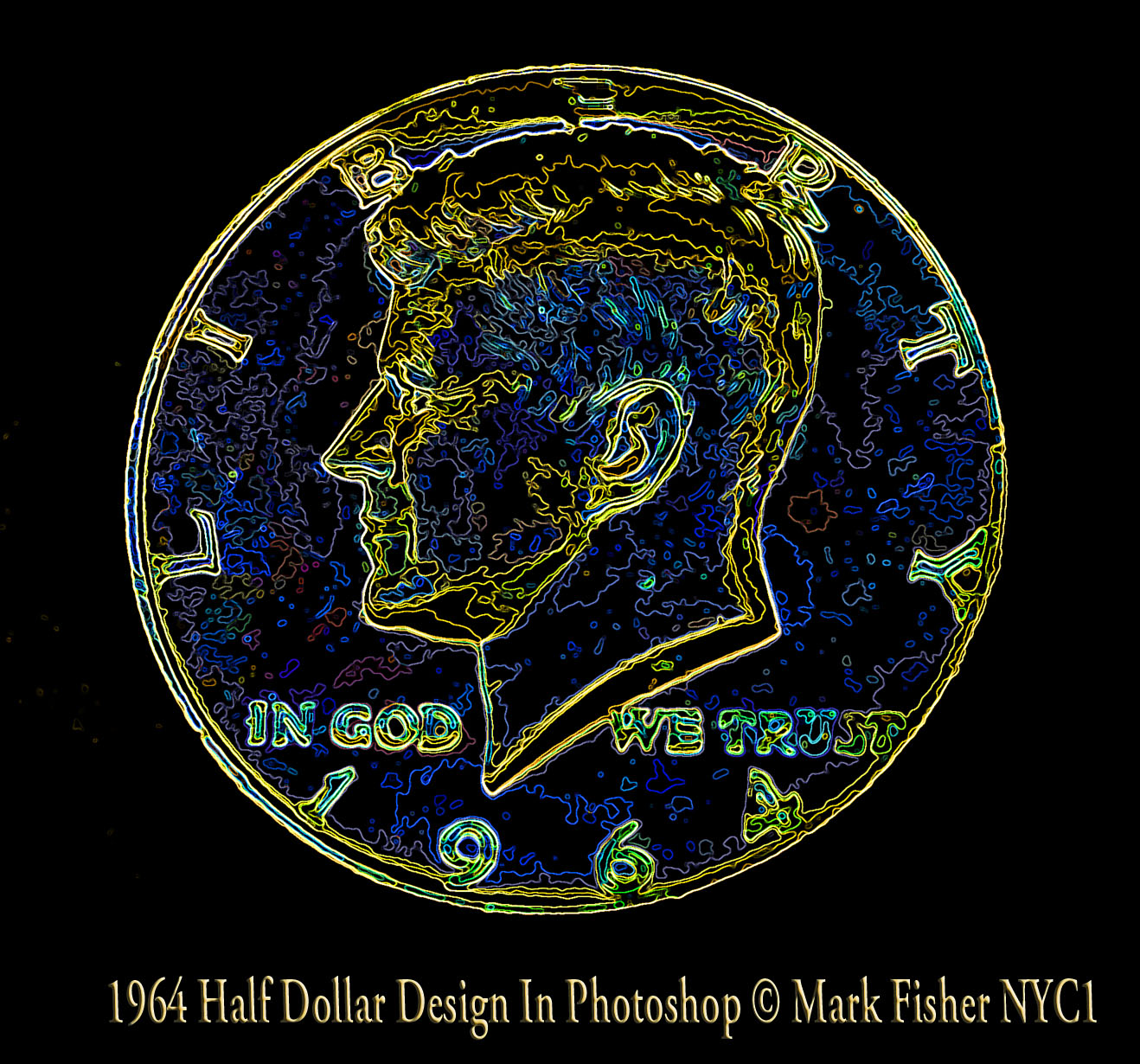 Kennedy Dollar 1964 Half Memorial